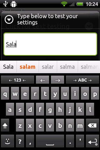 Pinglish Finglish Keyboard for android